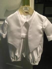 Boys christening or wedding outfit size 3-6 months