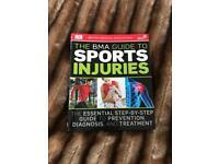 Sports injury book