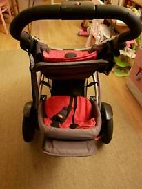 Phil and Ted's vibe double buggy