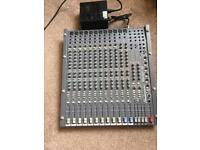 Studiomaster Trilogy 166 Mixer with Hard Case and Power Supply
