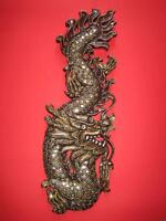 Intricate Hand Carved Thai Dragon