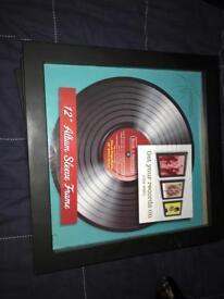 "12"" record frames x9"