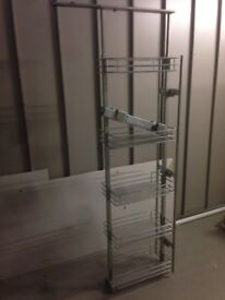 300mm Wide pull out larder, USED