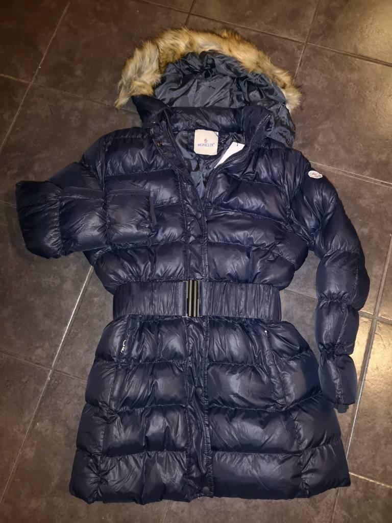 Ladies Moncler navy coat size 12-14  7570d34f3d