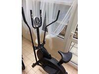 Crosstrainer (elliptical) and bike (2in1)