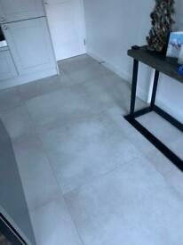 Luxury porcelain kitchen floor tiles