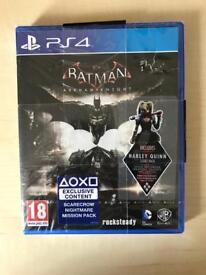 PS4 - Batman Arkham Knight Game - New