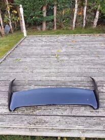 Vauxhall Corsa B GSI Black Spoiler+ Wind Deflectors HEKO