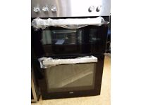 [Ex-Display] BEKO Electric Double Oven - Stainless Steel BXDF21100X