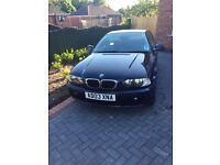 BMW 318 CI PETROL MANUAL - 1 YEAR MOT