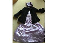 Victorian Girls Costume - Size 8-9yrs - ideal for Xmas Play