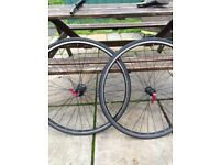 Single speed Wheelset, complete with inner tubes and tires