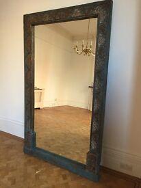 Gorgeous Antique Fullsized Doorframe Mirror