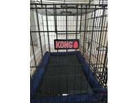 Kong Pet Crate with delux mattress