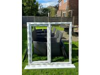 New Rehau 70mm UVPC window frame and Glass