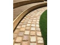 400No. Sandstone Paving Sets