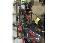 Aprilia SR50 scooter moped 2 stroke Rossi edition Spares or repair