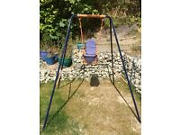 Toddler and child swing