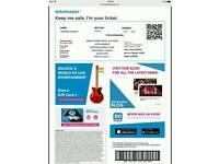 Justin Bieber Tickets x2