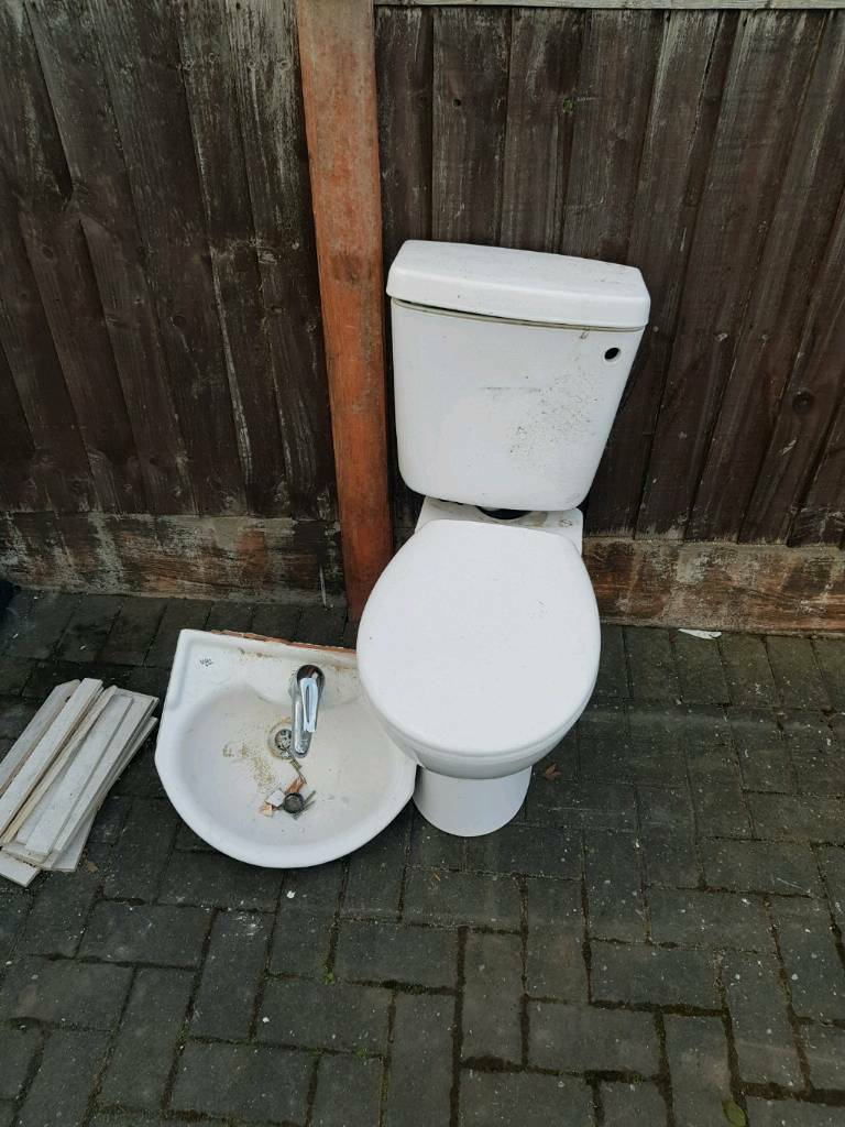 Free Toilet and Sink Basin
