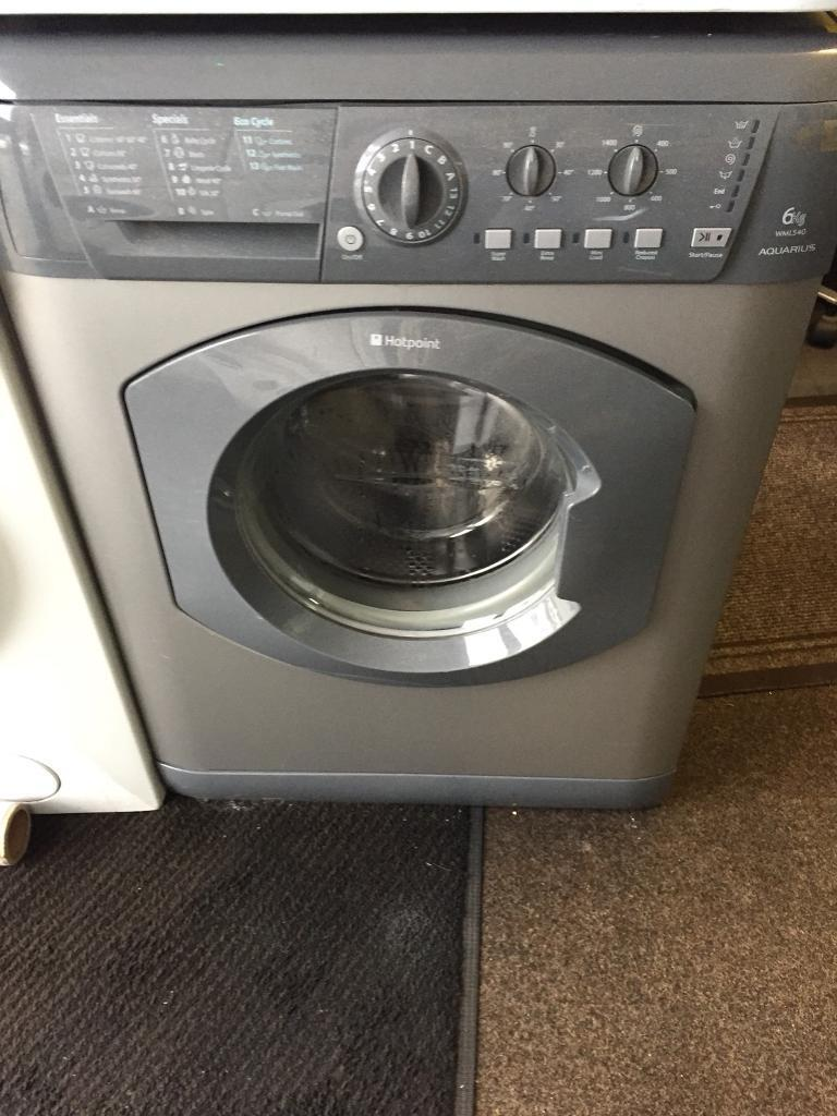 Hotpoint silver good looking 6kg 1200spin washing machine cheap
