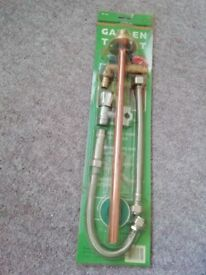 Brand new garden tap kit