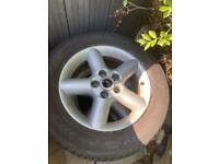 Nissan xtrail alloys and tyres