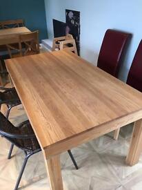 1 x wooden dining room table for sale £80