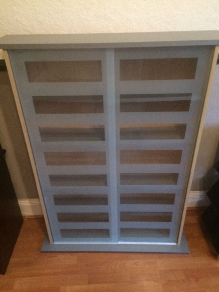 Sliding Door Dvd Cabinet Dvd Cd Storage Cabinet Sliding Doors In Holywood County Down