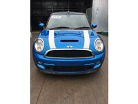 Mini Cooper SD R57 LCI N47C20A ENGINE, GS6-53DG GEARBOX, COMPLETE FRONT END - BREAKING FOR PARTS