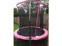 Pink trampoline only brought brand new 4 months ago