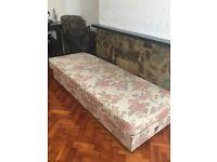 Vintage fully working adjustable Orthopaedic massage bed