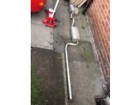 Exhaust, Ford Focus 2.0L