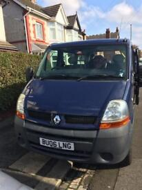 Renault Master 8 seater with disabled lift