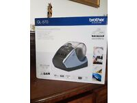 Brand new in box. Brother QL-570 label maker