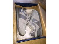 Brand new Ralph Lauren trainers Grey size 8
