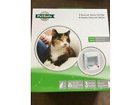 Cat flap (brand new in box)