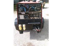 Lincoln Ranger 300 DLX Mobile Diesel Welder Kubota Engine Good Working Order 12 KW Auxillary Power