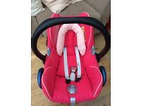 Maxi Cosy Car seat Girls pink