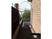 Wrought iron gate good condition 2000mm high x 910mm wide