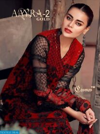 COSMOS AARYA VOL-2 GOLD WHOLESALE PAKISTANI CONCEPT SUITS