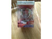 Lightning Reaction - Last off the blocks gets electric shocks!