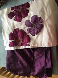 Purple house items
