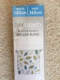 BRAND NEW Dunelm roller blind - in original packaging
