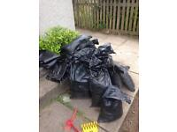 Sand bags free to collect