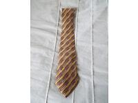 100% Silk Hermes Tie