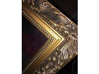 Beautiful gold antique style large mirroe