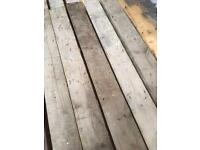 Reclaimed pine flooring/wood/timber