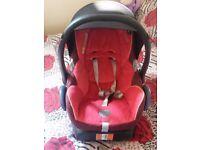 Maxi cosi cabrio fix car seat with base