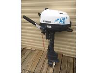 Yamaha F5AMHL Long Shaft 5hp outboard motor